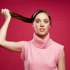 Cómo quitar el aceite de ricino del cabello