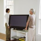 How to Attach a Samsung LCD TV to a Stand