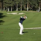 How the Legs Work on a Golf Backswing
