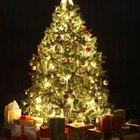 Porque só a metade das luzes da minha árvore de natal estão acessas?