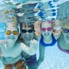 Los niveles de cloro de la piscina son muy altos