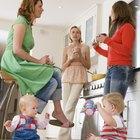Apilar juguetes en el desarrollo de la infancia temprana