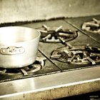 Cómo sacar grasa quemada de la estufa