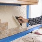 Cómo poner azulejos alrededor de la cocina