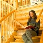 Cómo trazar una escalera de troncos