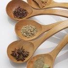 Cucharas de madera para cocinar