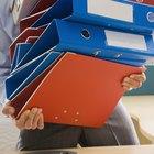 Cómo usar una carpeta archivadora
