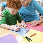 Actividades para enseñarles a niños pequeños a escribir