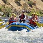 Hacer rafting en Yellowstone y en Grand Tetons