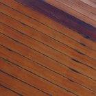 Como remover óleo derramado em madeira