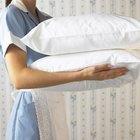 Cómo lavar y secar almohadas