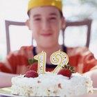 ideas de temas para un cumpleaños de 12 años