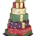 ¿Cómo unir una torta de dos pisos?