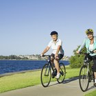 What Does Bicycling Work Out on Your Stomach?
