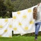 Cómo colgar una sábana como cortina y sin usar clavos
