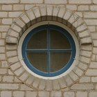 How to cover round windows