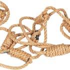 Como fazer uma escada de corda de escoteiros