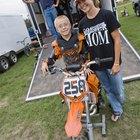 Motocross seguro para niños