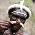 Diferentes piercings de tribos africanas