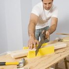 Using a box saw to perform end and miter cuts will help ensure tight joints