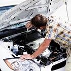 What does it mean if oil in my car is white & foamy?
