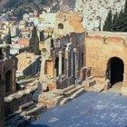 Recorridos turísticos en Taormina, Sicilai, Italia