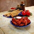 Como manter os aperitivos quentes em uma mesa de bufê
