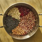Black eyed peas in a bowl
