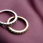 Como saber se um anel é de platina