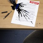 Productos que remueven el color para quitar la tinta del papel