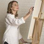 Como restaurar uma pintura rasgada