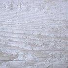 Cómo teñir de blanco la madera