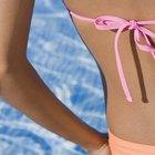 Cómo hacer tiras de bikini