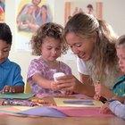 Actividades preescolares de recortar y pegar