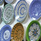 How to display decorative plates on your wall