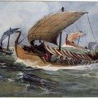 ¿Cuáles fueron los diferentes tipos de barcos que usaron los vikingos?