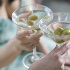 Alimentos que combinam com martínis