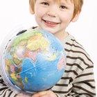 Actividades de continentes para niños