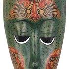 Como fazer máscaras africanas caseiras