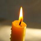 Cómo limpiar un desastre causado por cera de velas