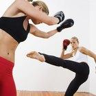 Movimentos e exercícios de kickboxing