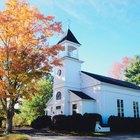 Cómo organizar el aniversario de una iglesia
