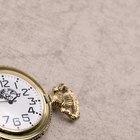 Modos de usar um relógio de bolso