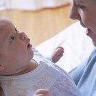 ¿Cuándo hacen contacto visual los bebés?