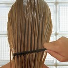 How to apply volumizing hair mousse