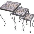 Cómo hacer un diseño de mesa con azulejos rotos