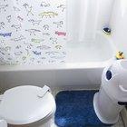 El espacio necesario para instalar un inodoro