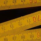 Como medir com uma régua em cm