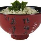 Cómo hacer arroz vaporizado