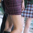Cómo achicar una falda sin coser